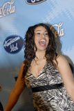 Jordin Sparks on the red carpet. Royalty Free Stock Photography