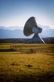 Jordisk antenn Raisting Arkivbild
