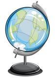 jordiskt jordklot för boll Vektor Illustrationer