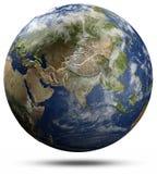 Jordjordklot - Asien vektor illustrationer