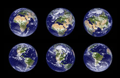 jordjordklotillustration vektor illustrationer