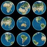jordklot Fotografering för Bildbyråer