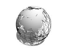 jordklot 3d Fotografering för Bildbyråer