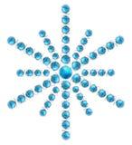 Jordklot Snowflake_2 Royaltyfri Bild