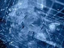 jordklotet bemannar arkivfoton