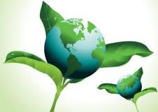 jordklotet låter vara världen Arkivbild