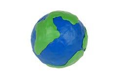 jordklotplasticine Arkivbilder