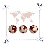 jordklotsax Arkivbilder