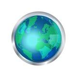 Jordklotsymbol Arkivfoto