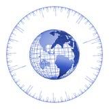 jordklottid vektor illustrationer