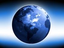 jordklotvärld Royaltyfria Bilder