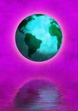 jordklotvärld Royaltyfri Bild
