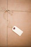 jordlott för brunt papper arkivfoton
