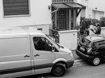 Jordlottleverans i frånvaro av mottagaren Fotografering för Bildbyråer