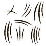 Jordluckrare av djuret, skrapa vektor vektor illustrationer