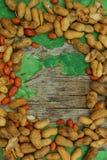 Jordnötter arkivfoto