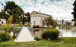 Jordning av den Hollywood för evigt Cemeteray royaltyfria foton