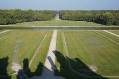 Jordning för Chambord slottChateau Arkivfoton