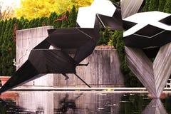Jordning för skulptur Arkivfoto