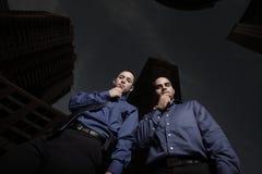 jordning som ser män Fotografering för Bildbyråer