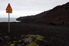 jordning vulkaniska varma iceland royaltyfri fotografi
