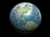 jordplanet Royaltyfria Bilder