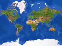 jordplanettextur vektor illustrationer