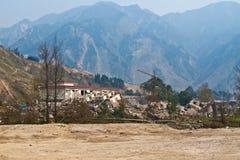 jordskalv royaltyfria foton