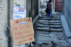 jordskalv 2010 haiti Royaltyfri Bild