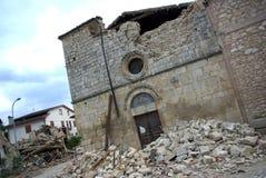 jordskalv italy Arkivfoto