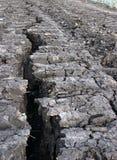 jordsplit Arkivbild