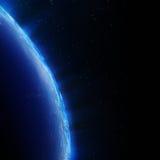 Jordstadsljus Arkivbild