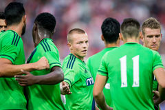 Jordy Clasie player of Southampton Royalty Free Stock Image