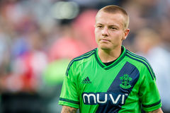 Jordy Clasie player of Southampton Stock Images