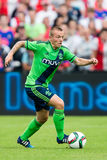 Jordy Clasie player of Southampton Royalty Free Stock Photo