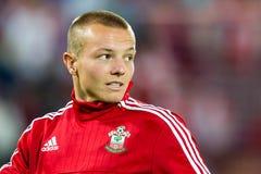 Jordy Clasie-Spieler von Southampton Lizenzfreie Stockfotos