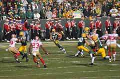 Jordy Nelson of the Green Bay Packers Stock Photo
