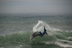 Jordy Smith layback snap royalty free stock image