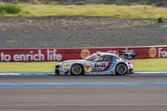 Jorg Muller of BMW Sports Trophy Team Studie in Super GT Final R Royalty Free Stock Images