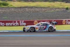 Jorg Muller of BMW Sports Trophy Team Studie in Super GT Final R Royalty Free Stock Images