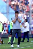 Jorge Almiron-DT van San Lorenzo royalty-vrije stock foto's
