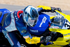 Jorge Arroyo pilot of Stock Extreme of the CEV Royalty Free Stock Photography