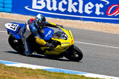 Jorge Arroyo pilot of Stock Extreme of the CEV Championship Royalty Free Stock Photos