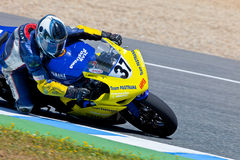 Jorge Arroyo pilot of Stock Extreme of the CEV Championship Royalty Free Stock Photo