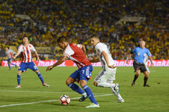 Jorge Benitez attacking during Copa America Centenario Stock Image