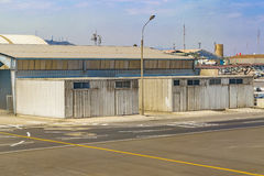 Jorge Chavez Airport Lima, Peru Royaltyfri Bild