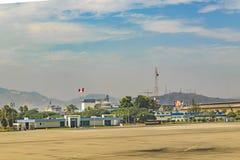 Jorge Chavez Airport Lima, Peru Royaltyfri Fotografi
