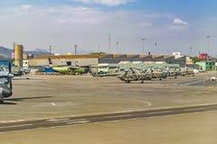 Jorge Chavez Airport, Lima, Peru Stock Photos