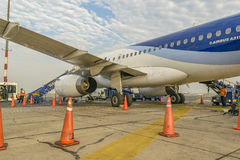 Jorge Chavez Airport, Lima, Peru Stock Photo