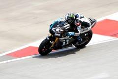 Jorge Lorenzo av den Yamaha fabriken Racing Arkivbilder
